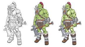 Orc Royalty Free Stock Photography