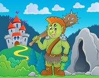 Orc theme image 4 Stock Photography