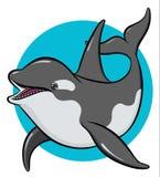 Orca variopinta di arte Immagine Stock Libera da Diritti