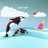 Orca Whale. Royalty Free Stock Photography
