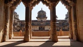 Orcha-Fort Madhya Pradesh Indien lizenzfreie stockfotografie
