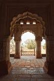 Orcha's Palace, India. Palace in Orcha, Madhya Pradesh, India Stock Photo