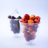 Orchard, berries. Healthy nutrition. Ripe berries stock photos