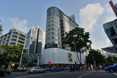 Orchard Building, Orchard Road, Singapore Stock Image