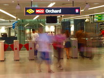 Orchard MRT Stock Images