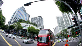 Orchard Road Junction Royalty Free Stock Photos