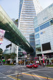 Orchard Road is the largest shopping district in Singapore Royalty Free Stock Image