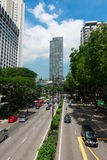 Orchard Road is a popular shopping street in Singapore Royalty Free Stock Images