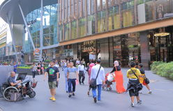 Orchard road shopping Singapore royalty free stock photos