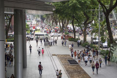 Orchard road Singapore royalty free stock photography
