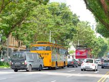 Orchard Road Singapore Royalty Free Stock Photo