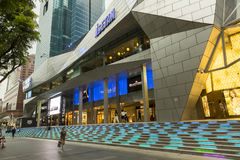 Orchard road in Singapore Stock Image