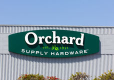 Orchard Supply Hardware Exterior Stock Image