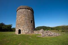 Orchardton-Schloss, Dumfries und Galloway, Schottland lizenzfreies stockfoto
