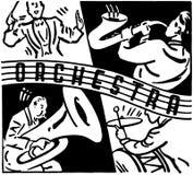 orchestra royalty illustrazione gratis