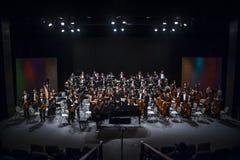 orchestra fotografia stock libera da diritti