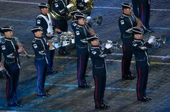 Orchestra of the Air Force of the Republic of Korea Stock Photo