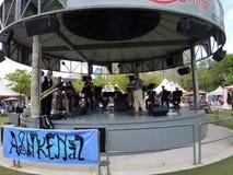 Orchestra at Ashkenaz Festival Royalty Free Stock Photo