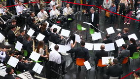 Orchestra stock footage