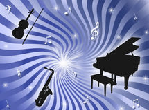Orchestra background Royalty Free Stock Image