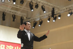 Orchestra conductor fanwenqiang Royalty Free Stock Photos