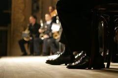Orchestra della fascia d'ottone Fotografia Stock Libera da Diritti