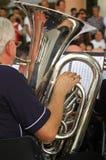 Orchestra della tromba della via Immagini Stock