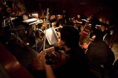 Orchestra di opera Immagini Stock