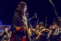 Orchestra di Quantum Fotografie Stock Libere da Diritti