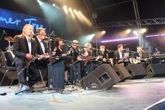 Orchestra di Ukelele della Gran Bretagna Immagini Stock