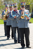 Orchestra horns Royalty Free Stock Photo