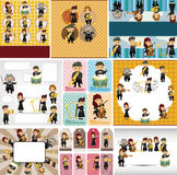Orchestra Music Player Card Stock Photography