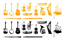 Orchestra Musical Instrument Royalty Free Stock Photo