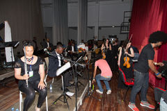 Orchestra National of Cape Verde Stock Photography