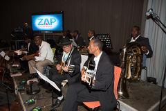 Orchestra National of Cape Verde Stock Images