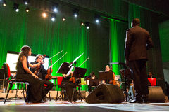 Orchestra National of Cape Verde Royalty Free Stock Photography