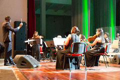 Orchestra National of Cape Verde Stock Photo