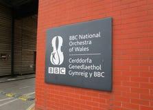 Orchestra nazionale di BBC di Galles Fotografie Stock Libere da Diritti