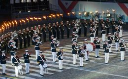 Orchestra of the Royal Navy Netherlands Royalty Free Stock Images