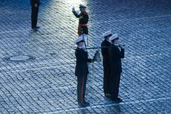 Orchestra of the Royal Navy Netherlands Royalty Free Stock Photo