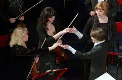 Orchestra sinfonica Fotografia Stock Libera da Diritti