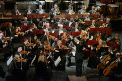 Orchestra sinfonica Immagini Stock