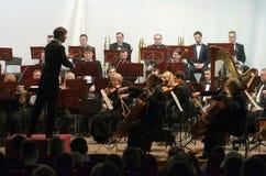 Orchestra sinfonica Immagini Stock Libere da Diritti