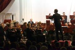 Orchestra sinfonica Immagine Stock Libera da Diritti