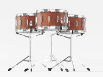 Orchestra Small drum on white 3D rendering Stock Image