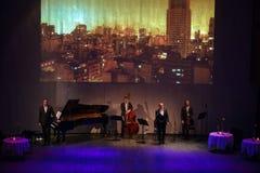 The orchestra Soledad Orquesta Stock Images