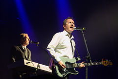 Orchestral Manoeuvres in the Dark, also known as OMD,  (band) in concert at Primavera Sound 2015 Royalty Free Stock Photo