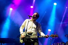 Orchestral Manoeuvres in the Dark, also known as OMD,  band in concert at Primavera Sound 2015 Royalty Free Stock Images