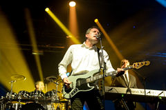 Orchestral Manoeuvres in the Dark, also known as OMD Royalty Free Stock Photo