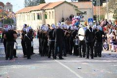 Orchestre de carnaval. Images libres de droits